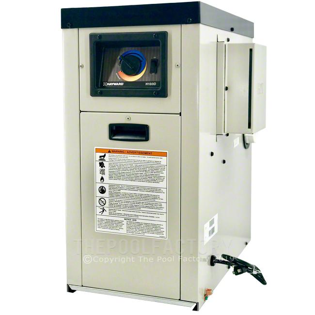 Hayward H-Series 100K BTU Natural Gas Aboveground Heater H100ID1