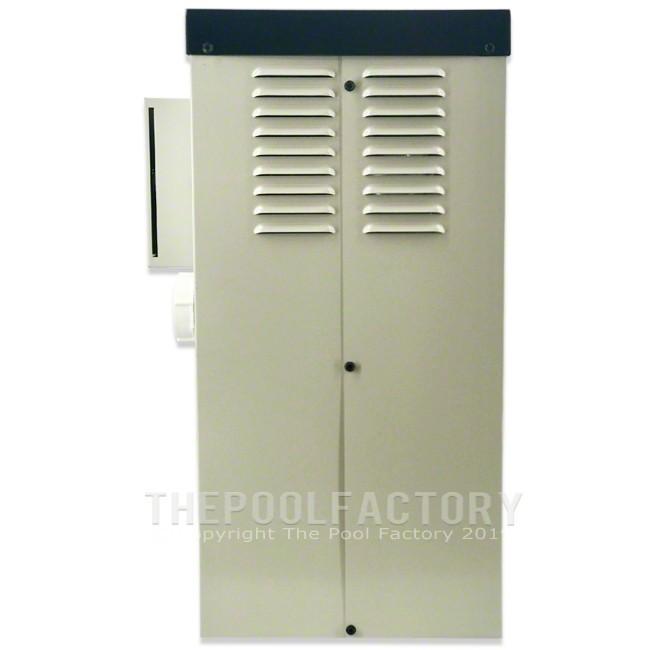 Hayward H-Series 100K BTU Natural Gas Aboveground Heater H100ID1 - Back Panel View
