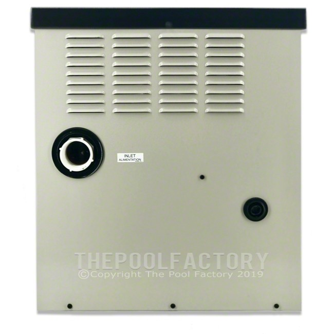 Hayward H-Series 100K BTU Natural Gas Aboveground Heater H100ID1 - Left Side Panel View