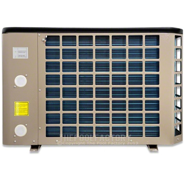 Hayward Titanium 50K BTU Electric Heat Pump HP50HA - Side View