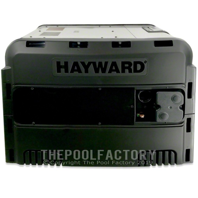 Hayward Universal H-Series Low NOx Propane Heater 150FDP - Left Side Panel View