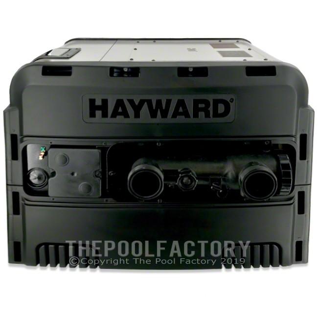 Hayward Universal H-Series 400,000 BTU Low NOx Propane Heater - Right Side Panel View