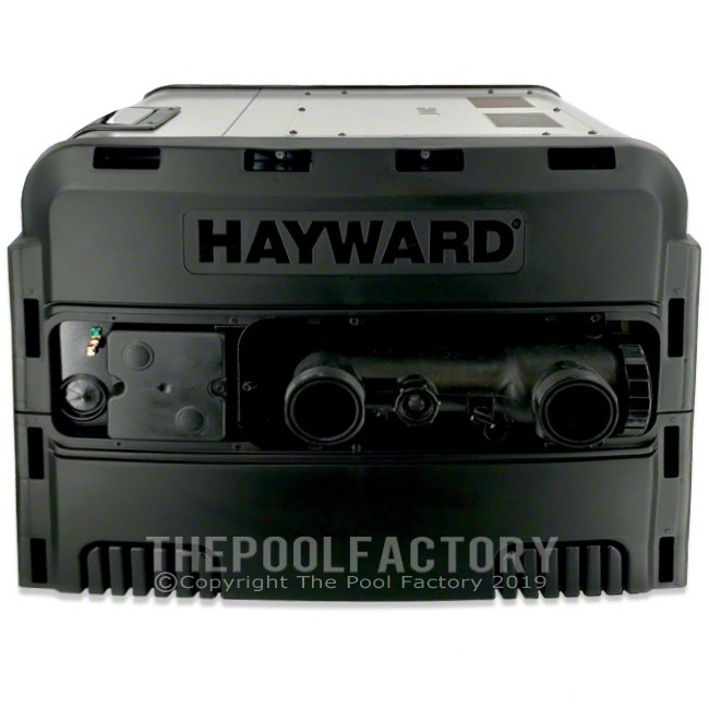 Hayward Universal H-Series 200,000 BTU Low NOx Propane Heater  - Right Side Panel View