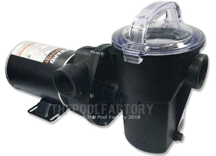 Hayward Power Flo Lx Pump 1 5 Hp Horizontal Discharge