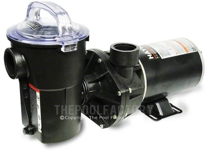 Hayward Power Flo Lx Pump 1 Hp Vertical Discharge