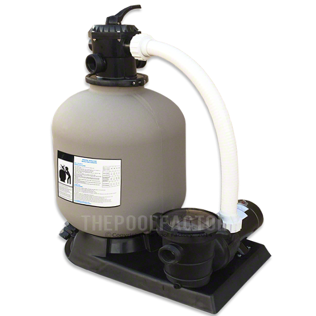 "Hydrotools 19"" Sand Filter System 1.5-HP Pump"