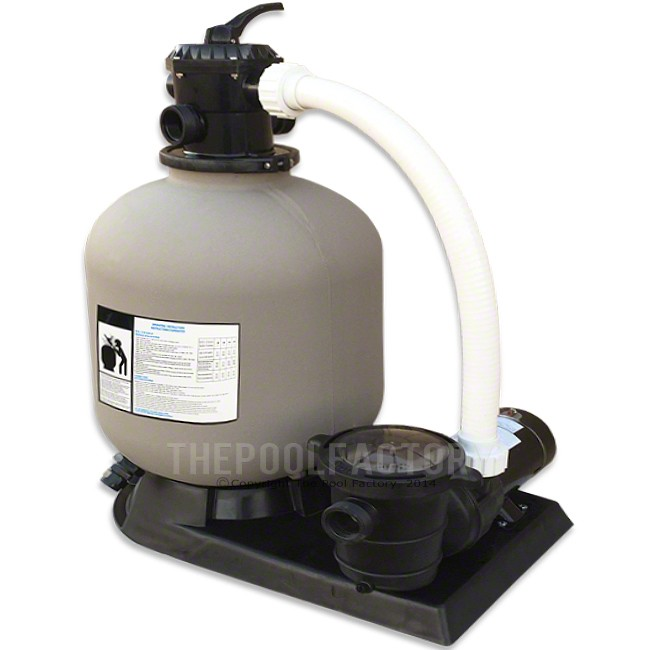 "Hydrotools 24"" Sand Filter with 2-HP Pump"