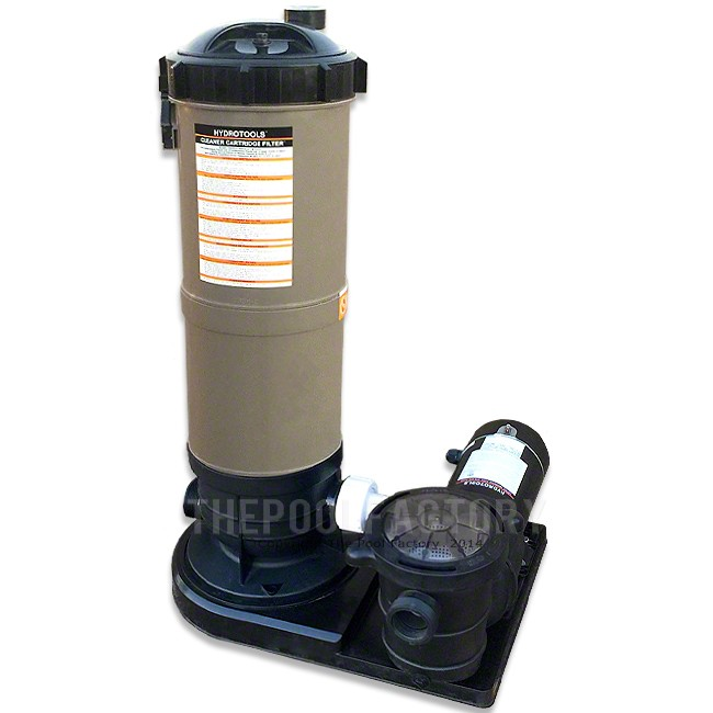 Hydrotools Cartridge Filter System 1.5-HP Pump