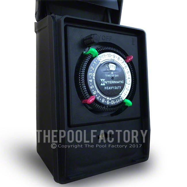 Intermatic Heavy Duty Outdoor Timer -Close-Up