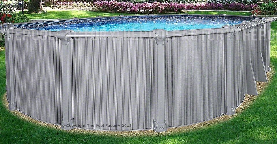 21 39 x43 39 x54 intrepid oval pool for Installing pool liner in cold weather