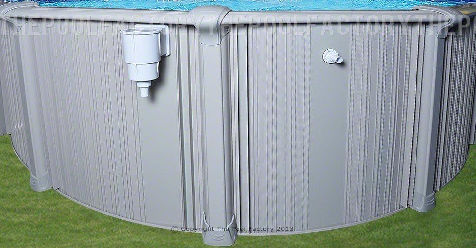 Intrepid Oval Skimmer & Return Panel
