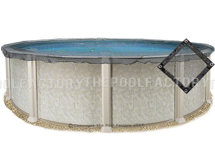 33' Round Leaf Net Cover
