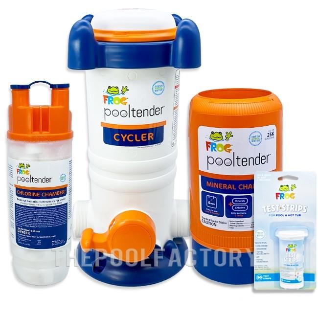 Frog Pool Tender Fresh Mineral Water Chemical Package