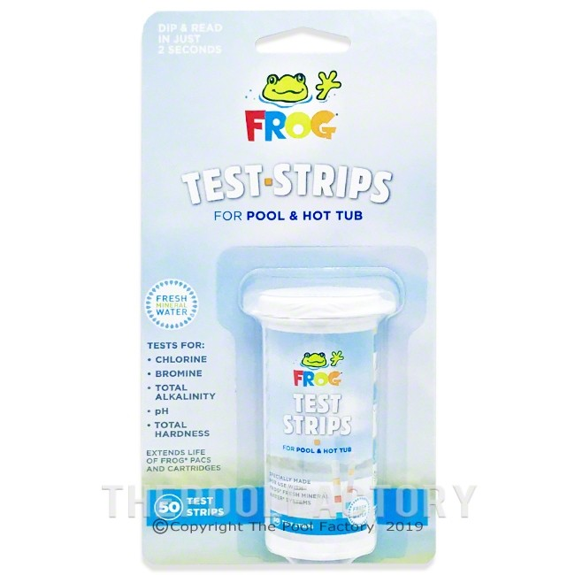 Pool Frog Test Strips