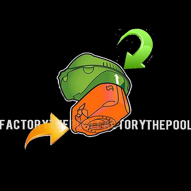 Pool Frog Flippin' Frog XL Replacement Cartridge