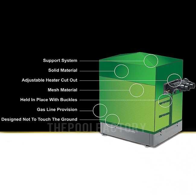 Pro-Tech Heater Cover Diagram