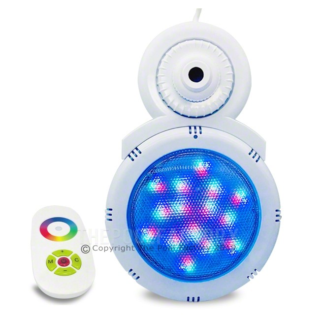 LED Multi-Color Pool return light with Remote