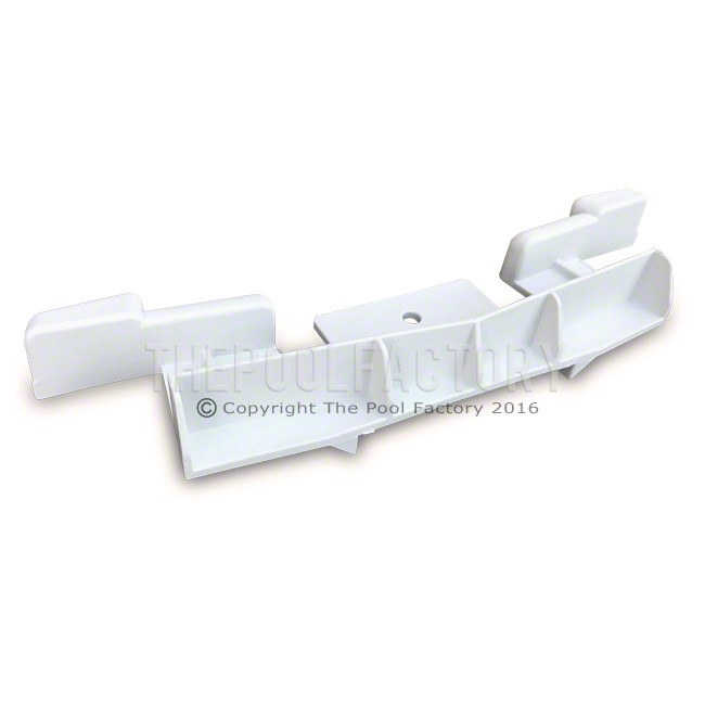 Bottom Straight Side Track Connector for Oval Saltwater 8000 Pool Models - Back View