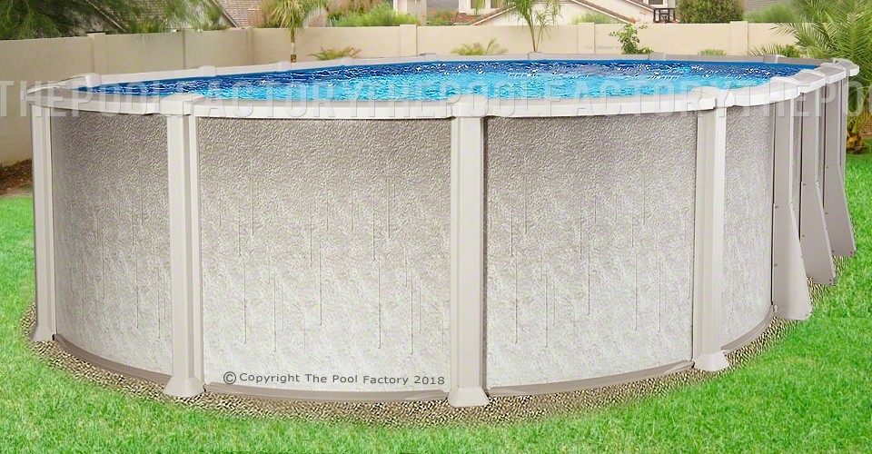 "12'x16'x54"" Saltwater 8000 Oval Pool"