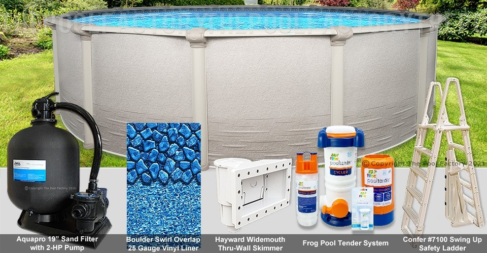 """18'x52"""" Signature RTL Round Pool Package"""