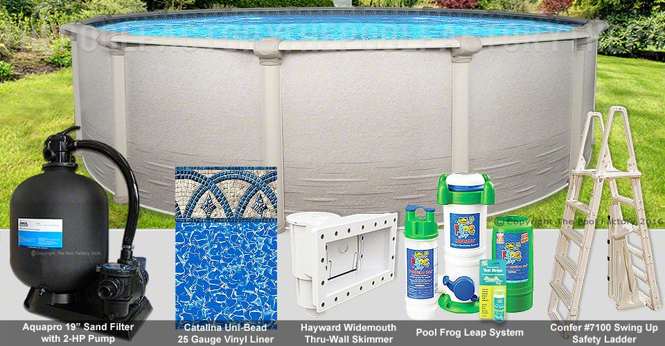 "18'x54"" Signature RTL Round Pool Package"