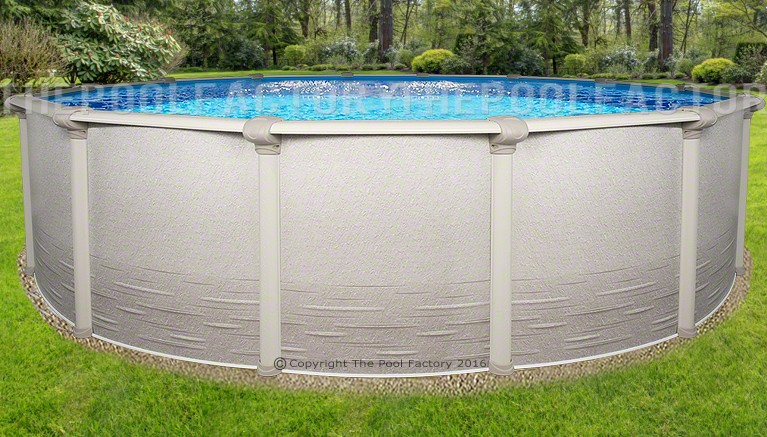 Signature Rtl Round Above Ground Pools The Pool Factory