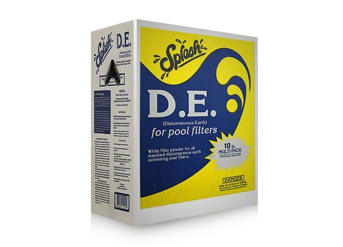 12lb Box Splash D.E.  Diatomaceous Earth