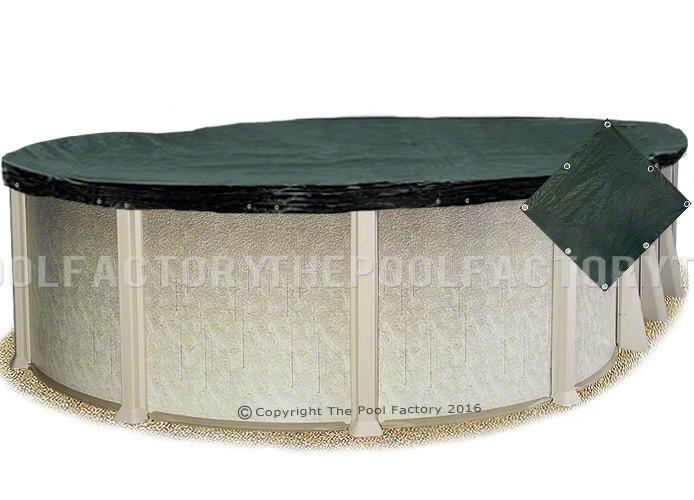 8'x16' Oval Supreme Guard Winter Cover