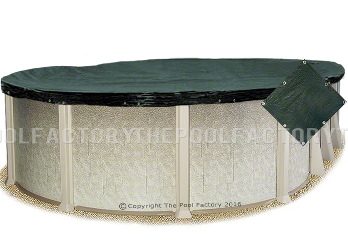 16'x26' Oval Supreme Guard Winter Cover