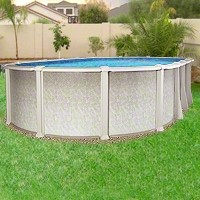 Saltwater 8000 Oval Pool