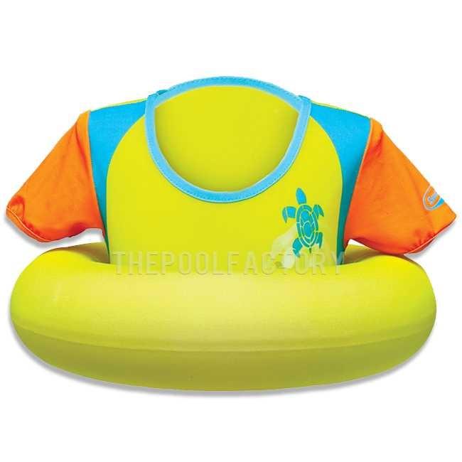 SwimWays Swim Sweater - Yellow