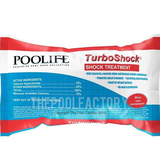 Swim Pool Shock Treatment : Turboshock shock treatment lb bag