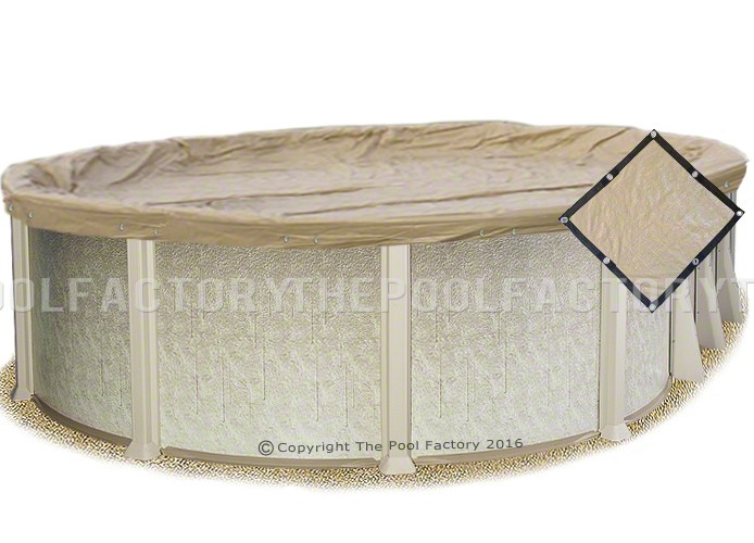 18'x33' Oval Ultimate Guard Winter Cover
