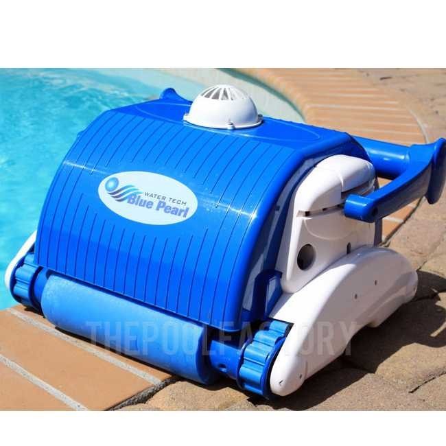 The Water Tech Blue Pearl Plus will clean most pools in 60-90 minutes