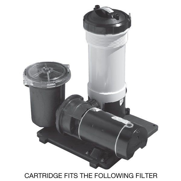 The Waterway TWM 50 Replacement Filter Cartridge is for use in the above filter system