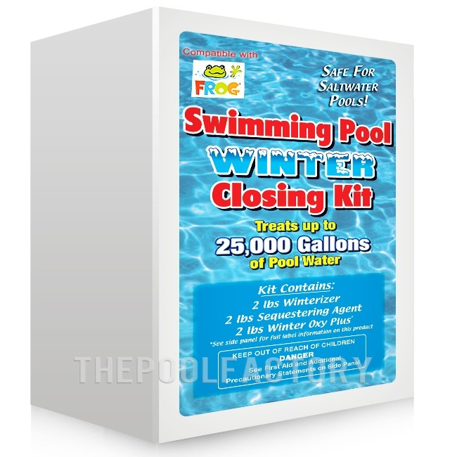Winterizing Closing Kit for Chlorinated, Pool Frog or Saltwater Pools up to 25,000 Gallons