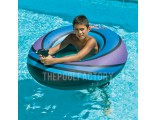 "Swimline 40"" Inflatable Super Squirter Ring (Blue)"