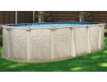 "8'x15'x52"" Cameo Oval Pool"
