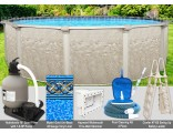 "21'x54"" Cameo Round Pool Package"