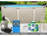 """21'x54"""" Cameo Round Pool Package"""