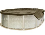 10'x15' Oval Super Heavy XXtreme Winter Cover