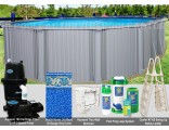 "21'x43'x54"" Intrepid Oval Pool Package"