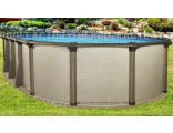 "18'x33'x54"" Melenia Oval Pool"