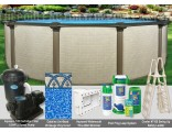 "18'x54"" Melenia Round Pool Package"