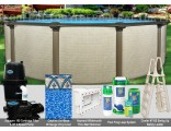 "27'x54"" Melenia Round Pool Package"