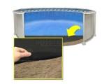 14'x20' Oval Armor Shield Liner Floor Pad