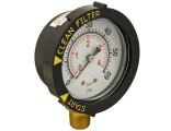 Pentair Bottom Mount Pressure Gauge 190058