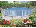 12'x17' Oval Sharkline Integrity Aluminum Fence Kit