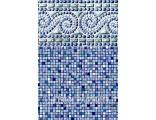 "30'x54"" Round Uni-Bead Portofino Liner  - 25 Gauge"