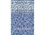 "15'x54"" Round Uni-Bead Portofino Liner  - 25 Gauge"